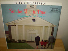 "THE BLACKWOOD BROTHERS...""SUNDAY MEETIN' TIME""...""AUTOGRAPED""......OOP GOSPEL LP"