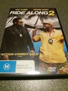 Ride Along 2 DVD Region 4 Ice Cube Kevin Hart Urban Hip Hop Movie Like New