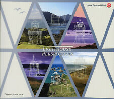 New Zealand NZ 2019 FDC MNH Lighthouses Perspectives 6v M/S Set Pres Pack Stamps
