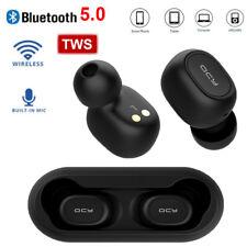 QCY T1C Wireless Earbud Headset Bluetooth 5 TWS Earphone Mic Earphone Headphone