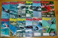 Fliegermagazin 1993 Sammlung Jahrgang komplett Sportflug Flugzeuge Zeitschrift