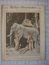 The War Illustrated # 154 (Tunisia, Makin, Camouflage WW2, Bismarck Sea, Mareth)