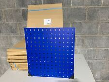 """One (1) Bott Steel ToolBoard Wall Display Perforated Panel 18"""" x 20"""" Blue, Nos"""