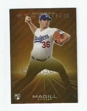 Matt Magill 2013 Bowman Sterling Gold Refractor Rookie RC /50 Dodgers