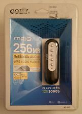COBY MP-C843 MP3 Audio Player 256MB USB NEW RARE SEALED