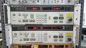 Noise Figure Meter, Hewlett-Packard HP 8970B, 10 MHz to 2047 MHz, Opt. 020, UK6