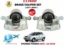 FOR HYUNDAI TUCSON 2.0 CRDI 2.7 2.0i 2005-2010 2x FRONT LEFT RIGHT BRAKE CALIPER
