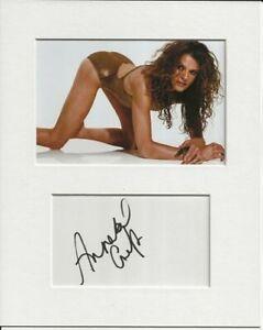 Annabel Croft tennis signed genuine authentic autograph signature AFTAL COA