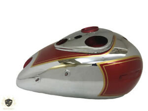 Ariel 500cc Red Hunter Fuel Petrol Tank Chromed & Painted Red |Fit For