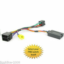 RENAULT CLIO 2000 to 2005 STEERING WHEEL STALK CONTROL INTERFACE LEAD CTSRN004