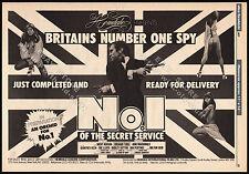 NO. 1 of the SECRET SERVICE__Original 1977 Trade AD promo / poster__NICKY HENSON