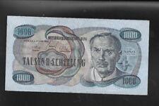 1000 Schilling  2.Jänner 1961 Viktor Kaplan B 481169 L  Eiamaya
