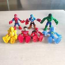 Lof of 7pcs Playskool Heroes - Marvel Super Hero Adventures- Boy Toy Collection