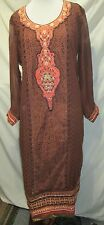 Designer Bollywood Net&Georgette martial Salwar Kameez Suit  Party wear size 50