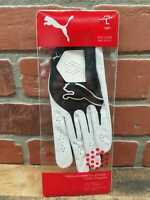 NEW!!! Womens PUMA Performance Black Golf Glove Sz L