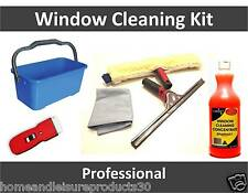 Professional Window Cleaning Starter Kit with Bucket