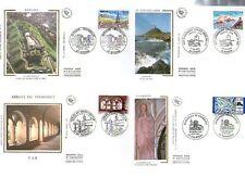 FDC - FRANCE 3018-3021 - SERIE TOURISTIQUE 1996