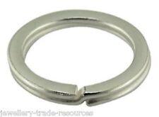 Plata Esterlina de 32 mm de diámetro Llavero Llavero