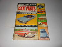 1964 CAR FACTS vintage car magazine