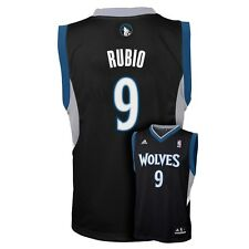 (2016-2017) Minnesota Timberwolves RICKY RUBIO nba ADIDAS Jersey YOUTH m-medium