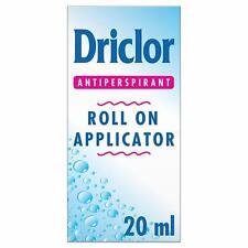 Driclor Solution Antiperspirant  Roll On Applicator 20ml