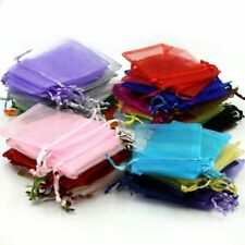 Portable Organza Mix Color Wedding Jewelry Candy Packing Package Bag 100pcs Gift