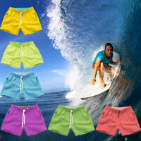 Mens Swimming Board Shorts Swim Shorts Trunks Swimwear Beach Surf Pants