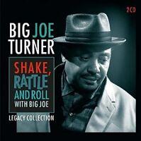 BIG JOE TURNER - SHAKE,RATTLE AND ROLL  2 CD NEW!
