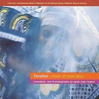 Janet Topp Fargion : Zanzibar: Music Of Celebration CD (2000) ***NEW***