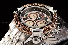 Invicta 55mm Subaqua Poseidon AGE of EMPIRE Swiss Rose Gold Ring Chron MOP Watch