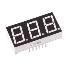 """Display LED 7-Segmenti 3-Cifre Rosso Inteso Anodo Comune 0.56"""" Common Arduino"""
