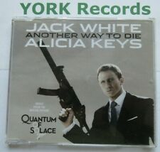 JACK WHITE & ALICIA KEYS - Another Way To Die - Ex Con CD Single J Records