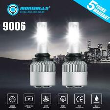 2X 9006 HB4 LED Headlight Kit 2000W 300000LM 6000K White High Low Beam Fog Light