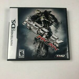 MX vs. ATV Reflex (Nintendo DS, 2009) Includes Case and Manual!