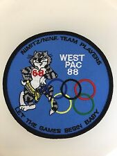 U.S. Navy Aviation Westpac 88' commemorative cloth embroidered patch