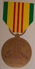 Window Bumper Sticker Military Medal Vietnam Service NEW Decal