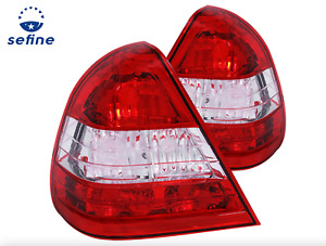 Anzo Tail Lights Red/Clear Set For 94-00 Mercedes-Benz C Class W202 * 221157 *