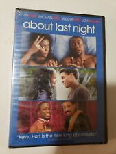 🔥🔥 About Last Night (DVD, 2014) KEVIN HART NEW SEALED SHIPS TODAY