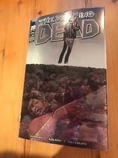 The Walking Dead Issue #100 Chrome Wraparound Death Of Glenn Image Comics NM