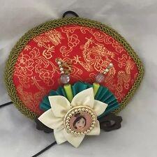 Disney Theme Parks Exclusive Princess Mulan Fascinator Costume Hat- New