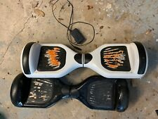 Two hoover boards with one charger