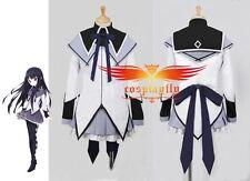 Puella Magi Madoka Magica Homura Akemi Cosplay Costume Custom Made Any Size