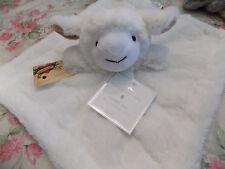SECURITY BLANKET LAMB SHEEP SUPER FURRY MANHATTAN KID CUDDLY PAL BROWN IN EARS