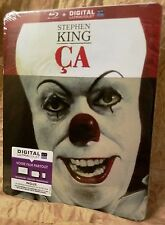 """Stephen King's IT (1990) """"Ça"""" Blu-Ray France Exclusive Limited Edition STEELBOOK"""