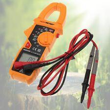 PM2018A Digital Clamp Multimeter Ammeter AC/ DC Voltage Ohmmeter Test Probes