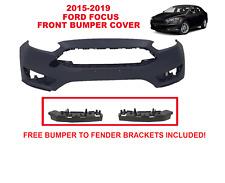 15 16 17 18 FORD FOCUS FRONT BUMPER COVER 2015-2016-2017-2018 S/SE/SEL/Titanium