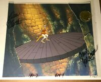 Dragon's Lair (1983) Production cel background Dirk Stranger Things Don Bluth