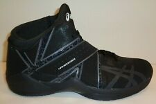 Asics Size 12 NAKED EGO2 Black Charcoal High Top Sneakers New Mens Shoes