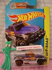 Case G 2015 i Hot Wheels OFF-DUTY truck #116∞Dark Blue/Orange/Chrome;66∞Off-Road