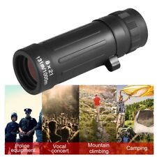 Compact Monocular Telescope Handy Scope For Sports Camping Hunting 8 21 G